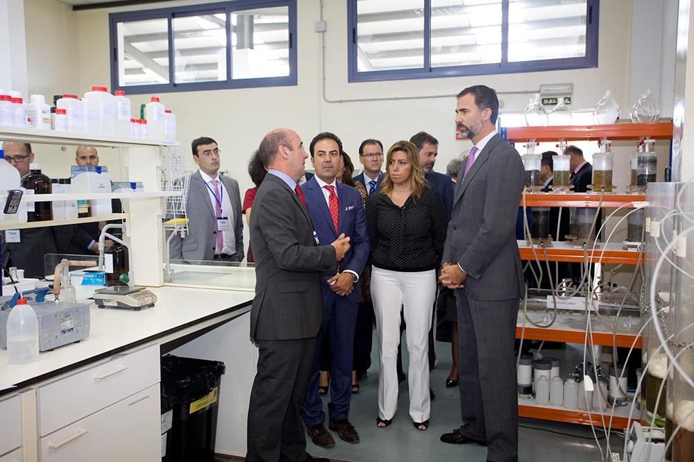 Estudio Honorio Aguilar -  Laboratorio Agroalimentario AGQ (Burguillos)