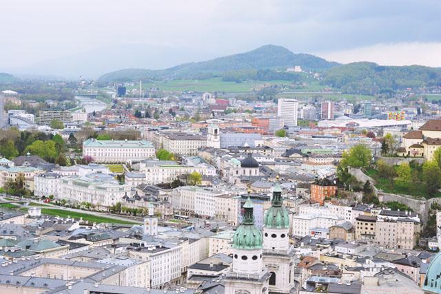 View of Salzburg from Hohensalzburg