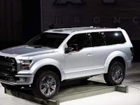 2020 Ford Bronco Towing Capacity