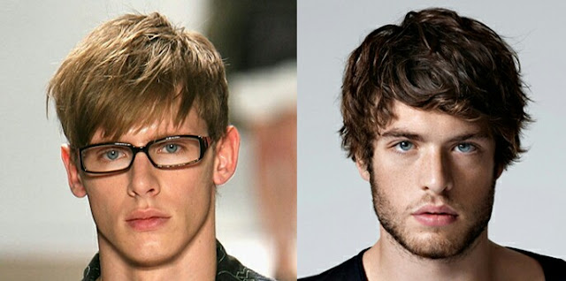 Men\'s Hair style for your Face Shapes - With a perfect photo Example ...