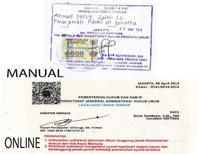 Jasa Legalisir Dokument Di Departement
