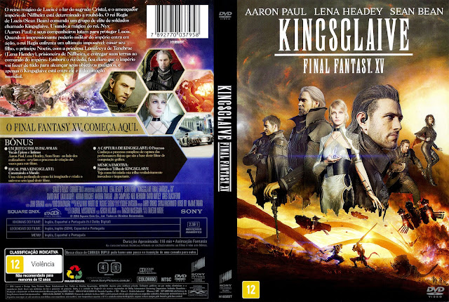 Capa DVD Kingsglaive Final Fantasy XV