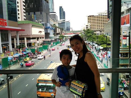 バンコクの中心街サイアム~スクンビットエリアをじゃらんじゃらん(散歩)