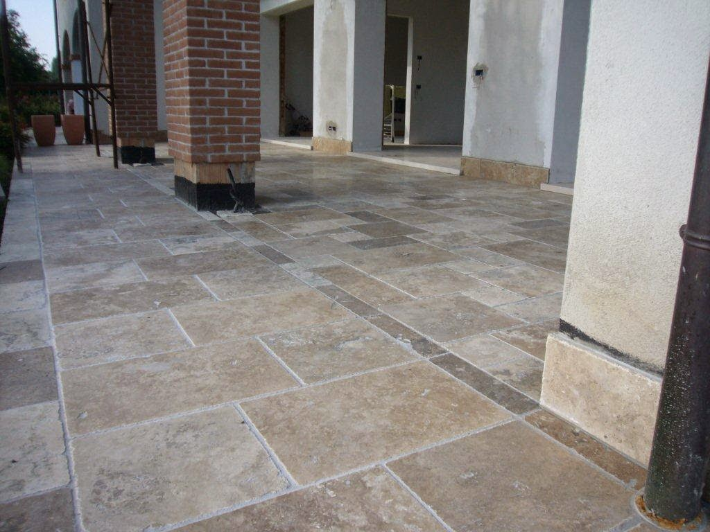 Pavimenti per esterni in travertino archiproducts
