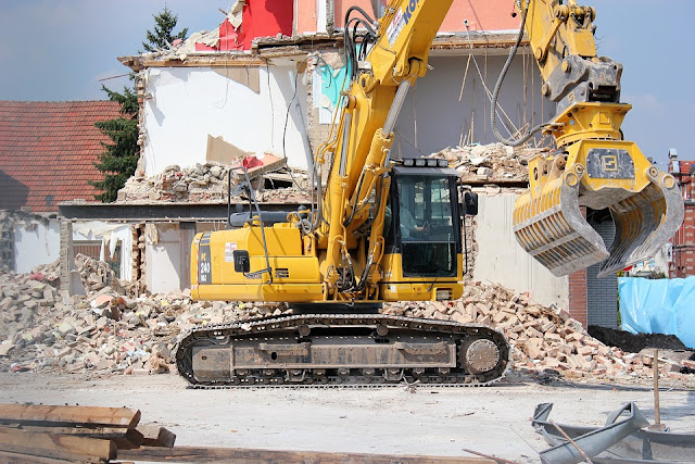 Demolition Process and Methods for Buildings and Structures