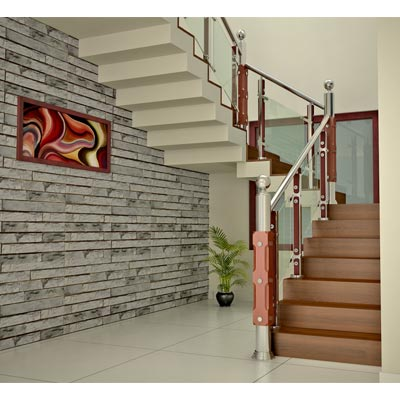 kerala style Carpenter works and designs: Steel Staircase ...