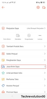 Pengaturan COD Shopee via Aplikasi Android 2