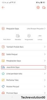 Pengaturan COD Shopee via Aplikasi Android 2