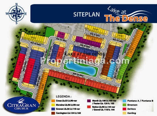 Siteplan-Lake-At-The-Dense