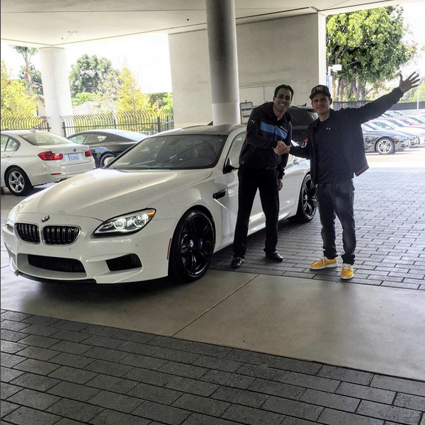 Rob Dyrdek Leaves His BMW M6 With West Coast Customs