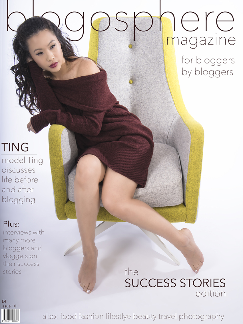 Blogosphere Magazine cover by Yasmin Qureshi Photography www.yasminqureshiphotography.blogspot.co.uk