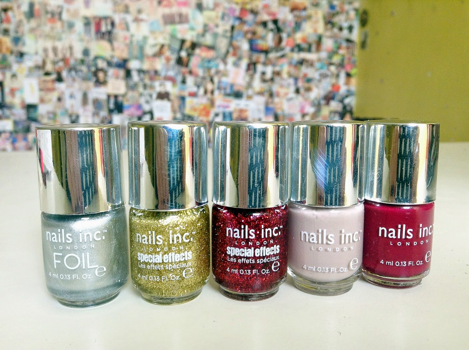nails inc editors collection