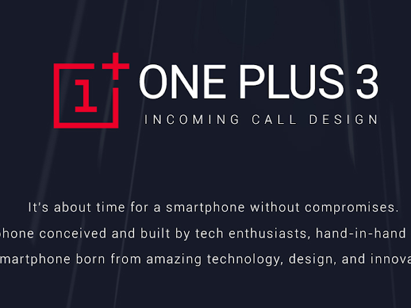 Download ONEPLUS 3 Incoming Call Design Free
