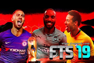 FTS 19 Mod FDR V2 APK OBB + Data Champions League by Gladiador BR Download