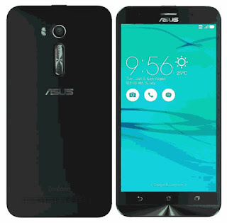 Asus Zenfone Go ZB552KL front and back view
