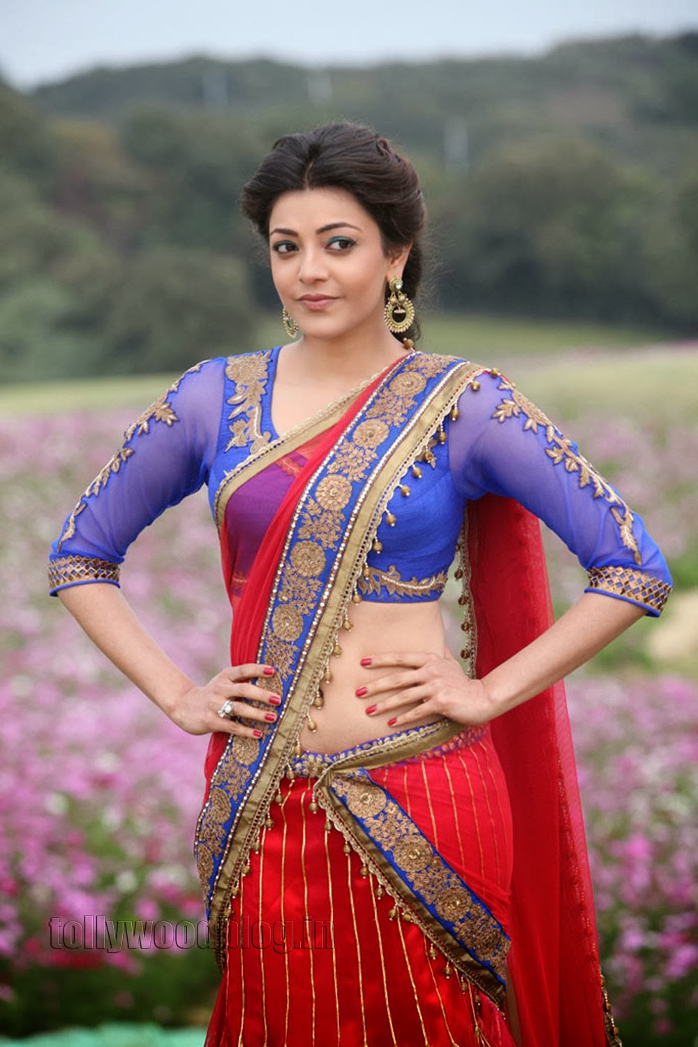 kajal agarwal traditional dress - photo #24