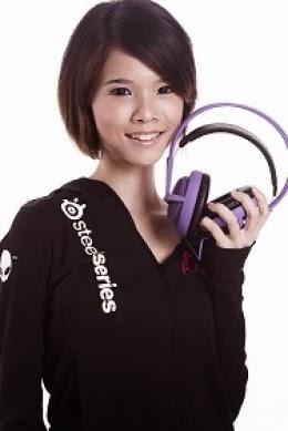 Foto Tammy Tang, gamer cantik asal Singapura
