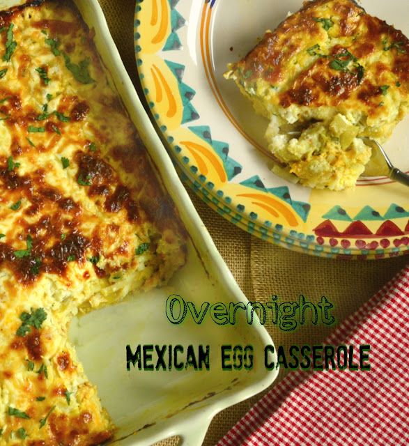 This Is How I Cook: Overnight Mexican Egg Casserole