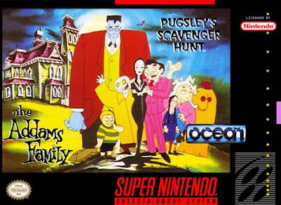 Rom de The Addams Family - Pugsley's Scavenger Hunt - SNES - Em Português - Download