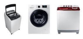 Tips Memilih Mesin Cuci yang pas untuk kebutuhan anda, beberapa hal yang harus dipertimbangkan sebelum membeli mesin cuci