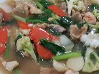 Nasi capcay khas china