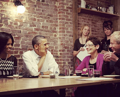 President Obama, First Lady Visit DC's Boundary Road Restaurant