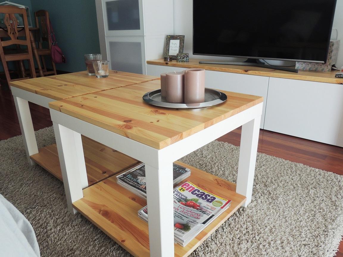Como personalizar las series besta y lack de ikea blanco for Customizar muebles ikea