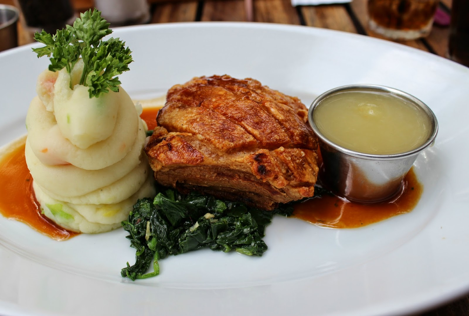 A picture of Belgo Crisp Pork Belly