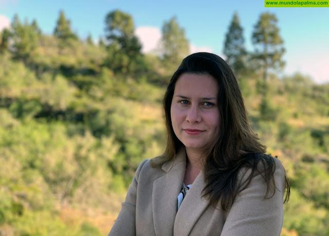 Mónica Gómez será la candidata de Coalición Canaria a la Alcaldía de Puntagorda