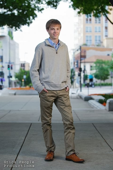 Alex - High School Senior Portraits - (c) Stick People Productions