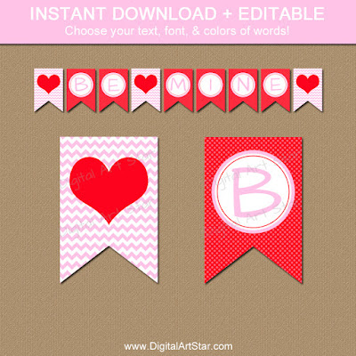 https://www.etsy.com/listing/265773349/valentines-banner-printable-pink-and-red