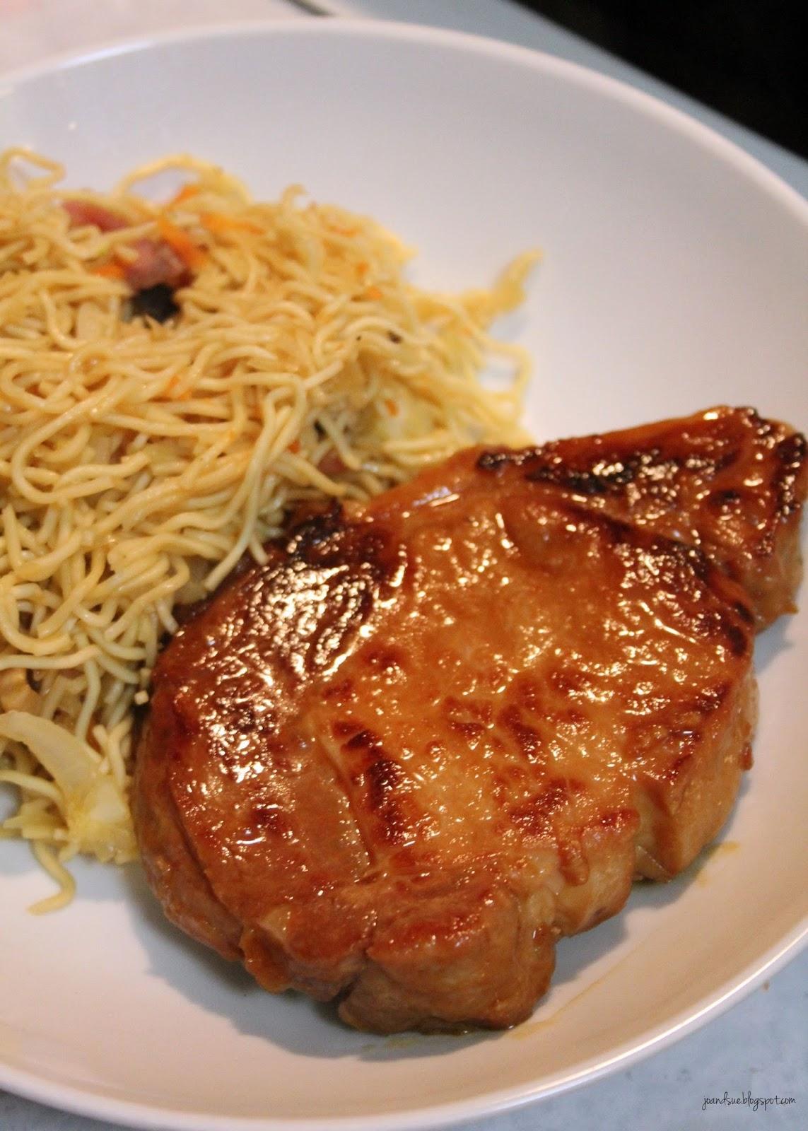 Jo and Sue: Korean Pork Chops