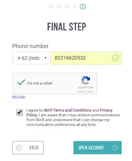 Cara Membuat Akun Skrill Untuk Pembayaran Online dan Forex