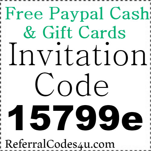 Free Paypal Cash and Gift Cards App Invitation Code, Referral Code and Reviews 2018-2019