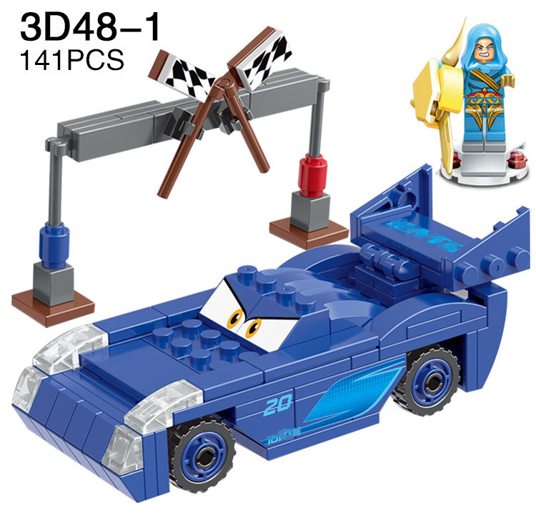 JLB 3D48: Cars With Fantasy Minifigs Preview