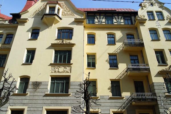 riga art nouveau district alberta iela rue albert musée