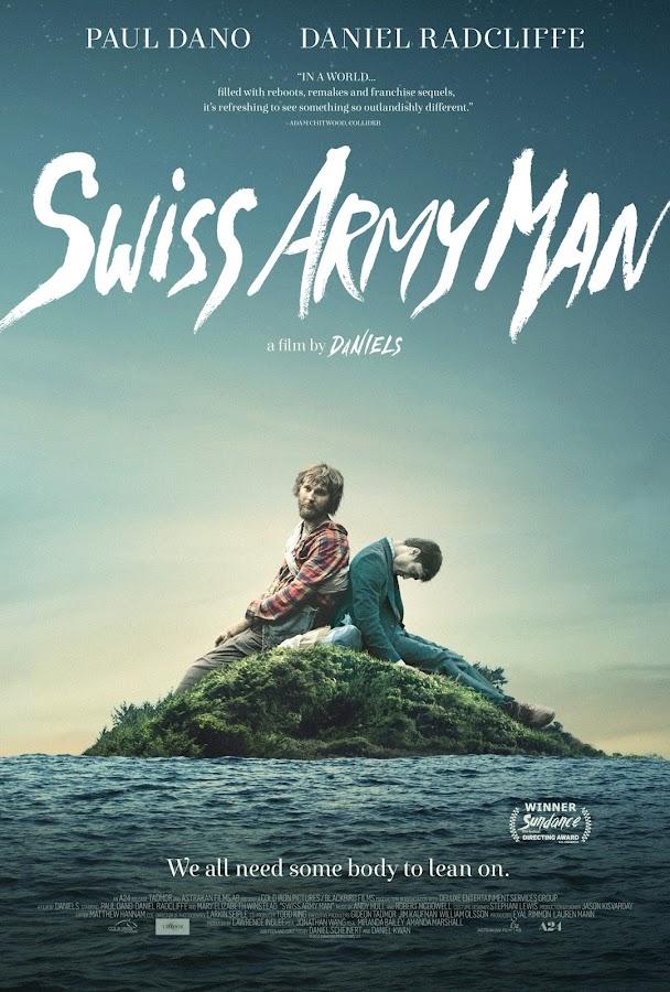 Daniel Radcliffe interpreta um cadáver com flatulência em Swiss Army Man e isso é só o começo dessa comédia creepy e bizarra com direção e roteiro de Dan Kwan e Daniel Scheinert