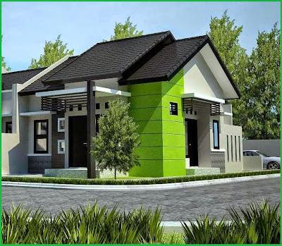 Desain teras Minimalis Modern