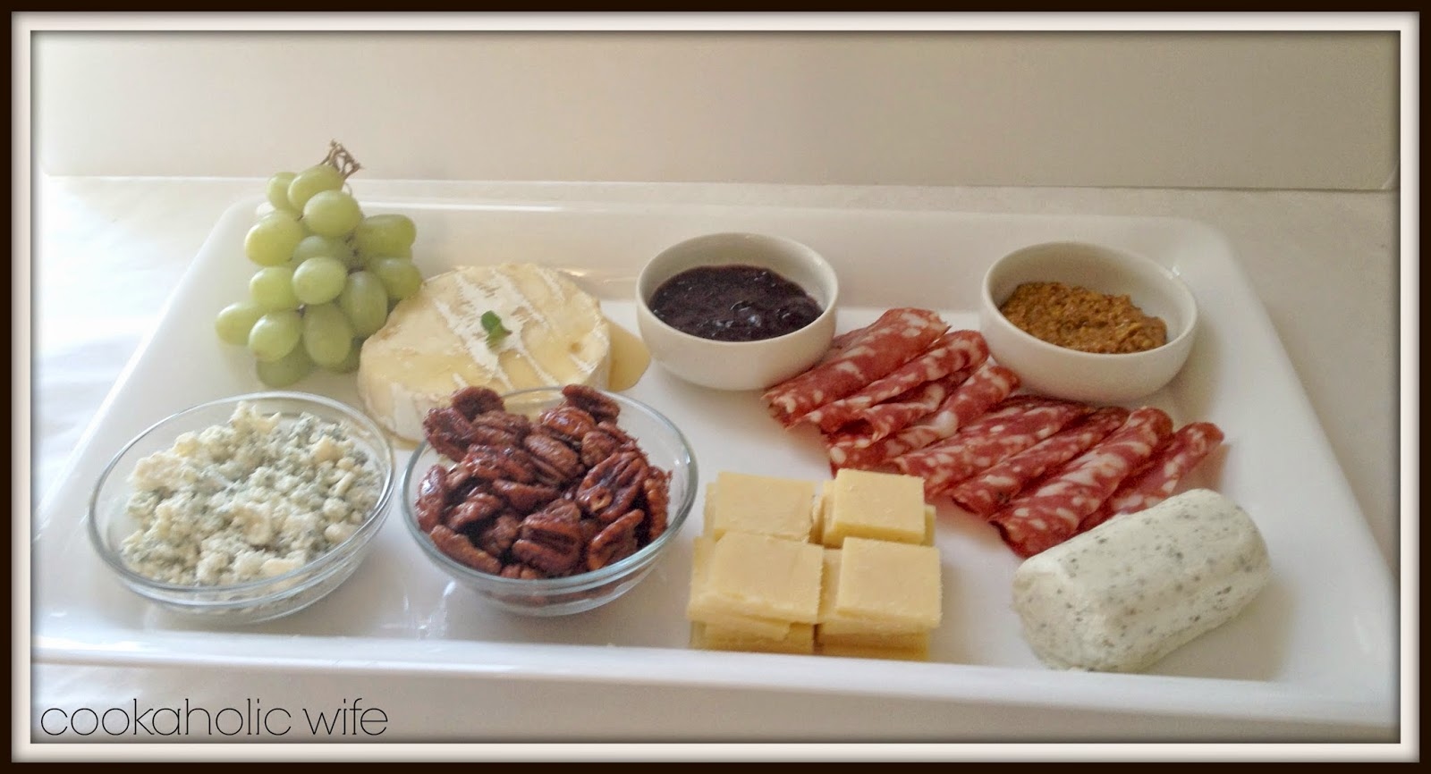 Cheese Plate - Cookaholic Wife