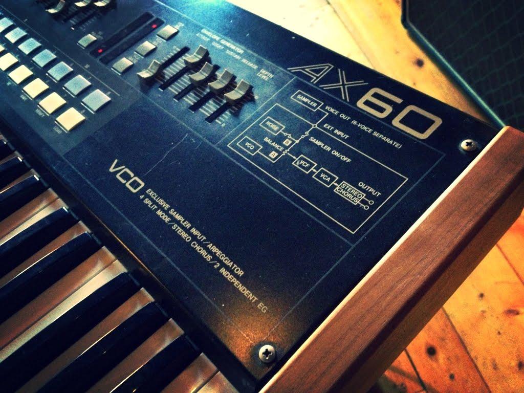 MATRIXSYNTH: AKAI AX60 Vintage 80s Analog VCO Synth w