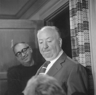 Saul Bass and Alfred Hitchcock