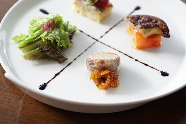 foie gras trio