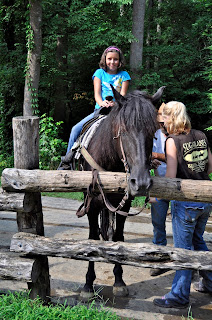 Horseback Riding at the Sugarland Riding Stables in Gatlinburg Tennessee