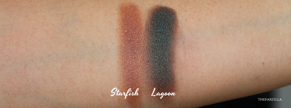 Chantecaille Mermaid Eye Color, Lagoon, Starfish, Review Swatch, Tom Ford Cream Color for Eyes