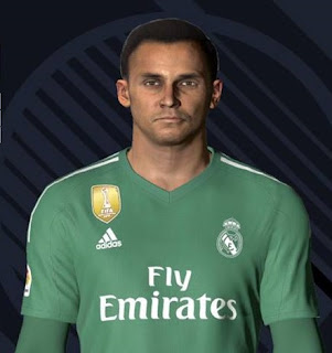 PES 2017 Faces Keylor Navas by Ben Hossam FaceMaker