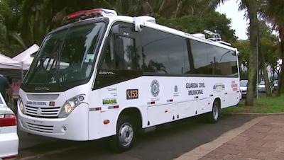 Falta de energia deixa câmeras de ônibus da GCM desligadas em Araraquara (SP)