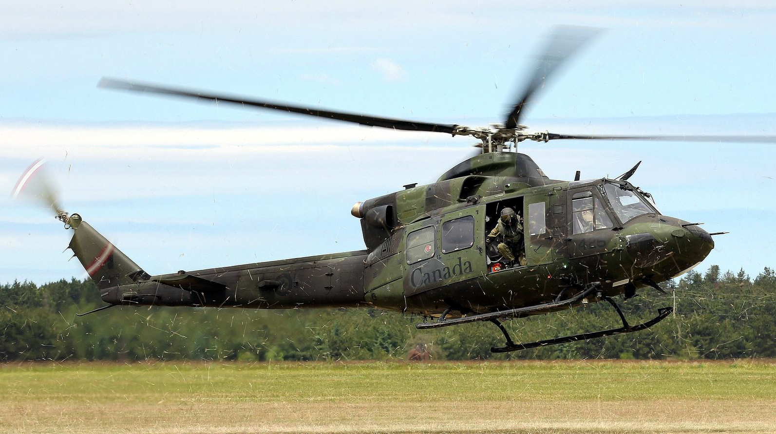 Royal Canadian Air Force Extends CH-146 Helicopter Service Life