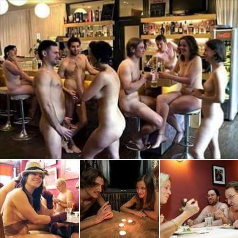 Ladies And Men All Go Nked The London Bare Restaurant