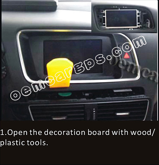 how to install a navigation system in audi q5 ~ Oem