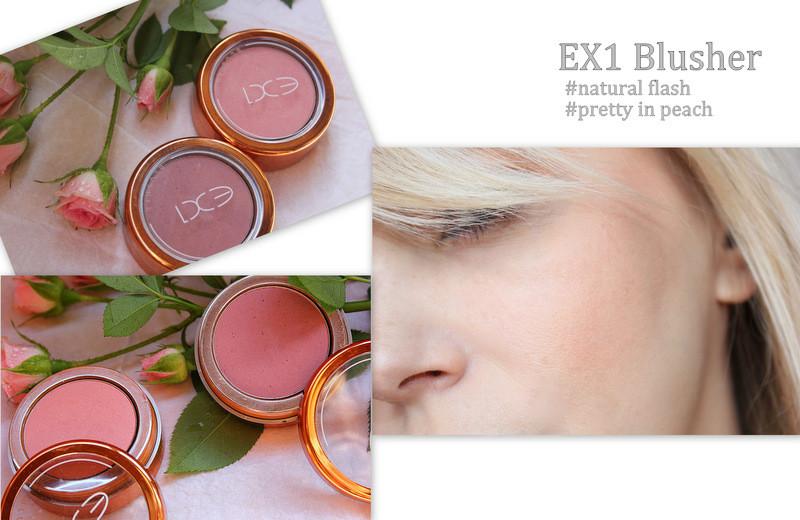 Отзыв: Румяна в двух оттенках EX1 Cosmetics Blusher #natural flush и #pretty in peach.